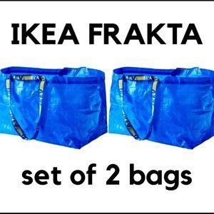 NWT IKEA FRAKTA  set of 2  - 19 gallon